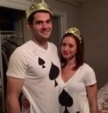 easy couples costumes easy costume king and of spades