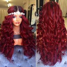 1b red ombre full lace human hair wigs for black women 150 dark