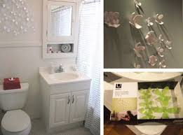 bathroom decorative floral accents wall ornament decoration for