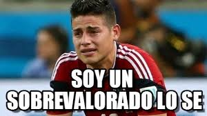 James Meme - soy un sobrevalorado lo se james meme on memegen