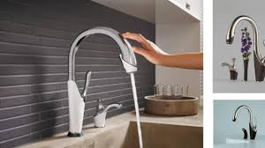 free kitchen faucet artistic touch free kitchen faucet touchless faucets comparing and