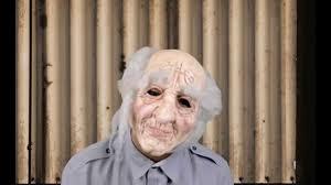 pa old man mask halloween masks trendyhalloween com youtube