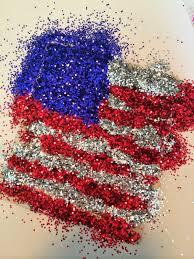 mini monets and mommies july 4th glitter american flag kids u0027 art