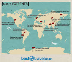 Atacama Desert Map Planet Earth U0027s Extremes Best At Travel Blog
