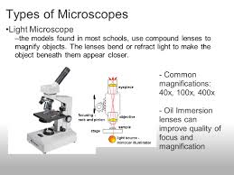 compound light microscope uses a light microscope uses optical lenses to magnify objects by