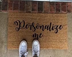 Outdoor Coir Doormats Outdoor Doormat Etsy