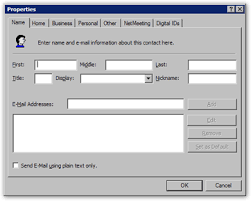 how to create an outlook address book in 2013 create new contacts from the outlook express address book