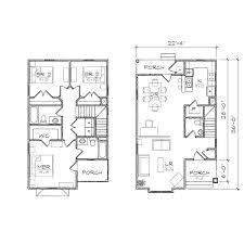 coastal cottage floor plans small lot coastal house plans