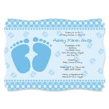 theme invitations baby blue personalized baby shower invitations