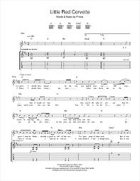corvette chords corvette guitar tab by prince guitar tab 46756