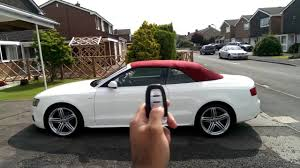 white audi a5 convertible pjm products audi a5 convertible remote roof module
