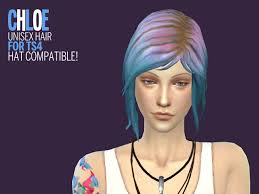 my sims 4 blog chloe price sim hat hair and shirts by astraea