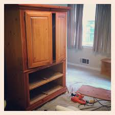 armoire makeover master bedroom progress report erin spain