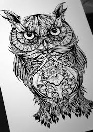 25 beautiful geometric owl tattoo ideas on pinterest geometric