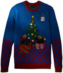 christmas tree sweater with lights blizzard bay men s a sloth s christmas light up ugly christmas