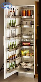 sw 450 guangzhou pull out pantry unit stainless steel kitchen