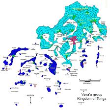 tonga map tonga map map of tonga vava u islands tonga south pacific