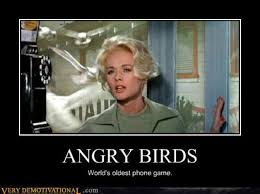 Old School Movie Meme - angry birds old school caption of the day