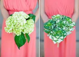 Bridesmaids Bouquets Green Floral Mismatched Bridesmaids U0027 Bouquets Mon Cheri Bridals