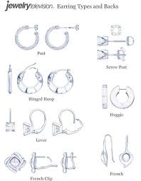 clasp necklace types images 46 mens earring types cool diamond earrings for men style jpg