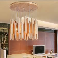 maximum wattage for light fixture modern chandelier solid natural batten chandelier wood art creative
