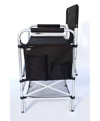 Quest Traveller Directors Chair And Side Table Side Table Directors Chair With Side Table Aluminium Directors