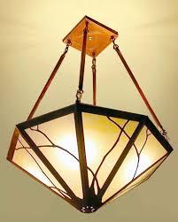 Art Nouveau Chandelier Art Nouveau Chandelier James Mattson Coppercraft