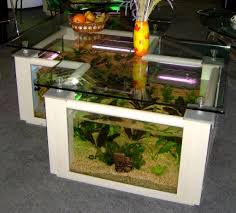 L Shaped Coffee Table Shaped Coffee Table Aquarium Design