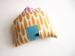 Diy House Diy Holiday House Pillow Creativebug Blog