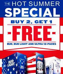 bud light for sale eagle brands sales on twitter specialalert buy 2 get 1 free 12