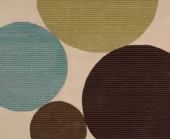 Blue Contemporary Rugs Contemporary Rugs With Circles Roselawnlutheran