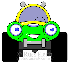 monster trucks drawings how to draw cartoons car