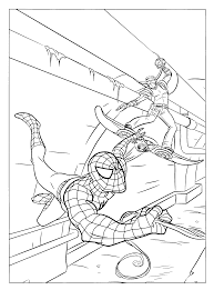 free printable spiderman coloring pages kids 3