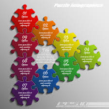 3d puzzle pieces template free vector download 14 994 free vector