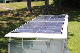 Club Car Ds Roof by Solar Electric Hybrid Golf Cart Solar Photovoltaic 100 220 280