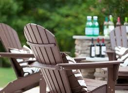 Composite Adirondack Rocking Chairs Inspirations Recycled Plastic Patio Furniture With Magnificent