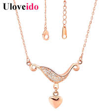 Customized Heart Necklace Compare Prices On Custom Engraved Heart Necklace Online Shopping