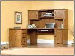 Office Computer Desk With Hutch Corner Computer Desk With Hutch For Home Small Corner Oak Home