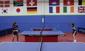 Topspin Table Tennis by National Table Tennis Trials Come To San Jose Where The Game Is A