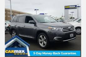 toyota highlander sales used 2013 toyota highlander for sale pricing features edmunds