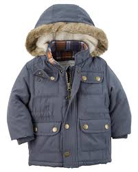 baby parka jacket carters