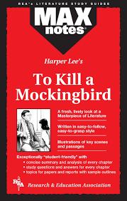 Book Report On To Kill A Mockingbird Amazon Com To Kill A Mockingbird Maxnotes Literature Guides