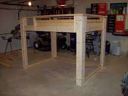 how to build a full size loft bed torres tidbits diy full size loft bed my house in nicaragua