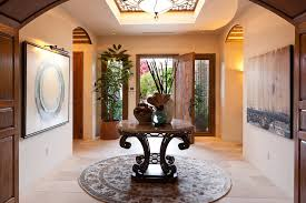 Foyer Artwork Ideas Foyer Tables Entry Beach With Round Table French Doors