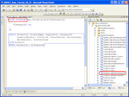 tutorial oracle stored procedure using existing stored procedures for the typed dataset s