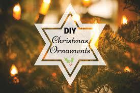 Creative Diy Christmas Decorations 10 Creative Diy Christmas Ornaments To Dress Up Your Tree