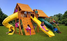 fantasy wooden playset d best in backyards