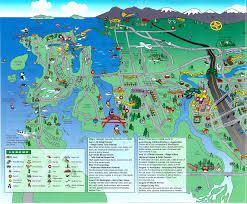 Washington Ferry Map by Champions Real Estate Lynnwood Edmonds Seattle Bellevue Anacortes