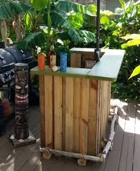 backyard bbq tiki bar u2022 1001 pallets