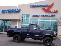 1996 ford f150 specs 1996 ford f 150 regular cab specifications pictures prices